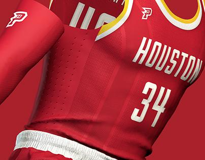 Houston Rockets - Logo and Uniform Concepts