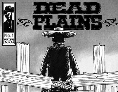 DEAD PLAINS comic for Comedy Central pilot