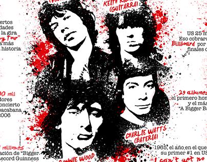 The Rolling Stones Infografia