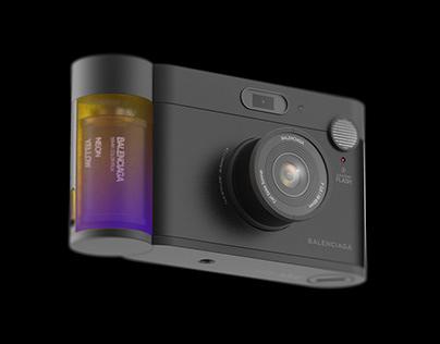 Balenciaga Film Camera Filter