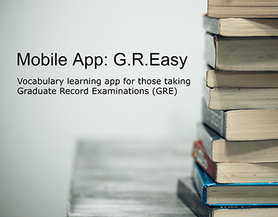 G.R.Easy: Vocabulary learning app