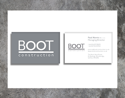 Boot Construction - Brand Identity Creation