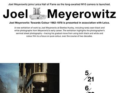 Joel Meyerowitz X Beetles Huxley X Laica M10