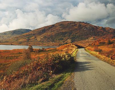 A year in Scotland