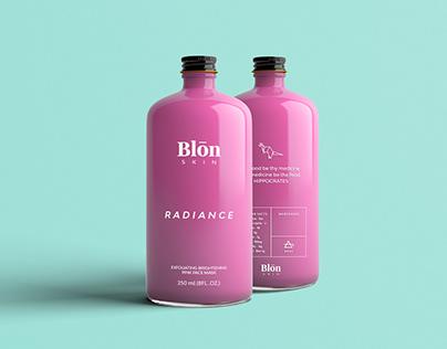 Blon Skin Cosmetic Packaging