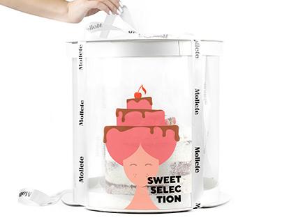 Mollete Sweet Selection Branding