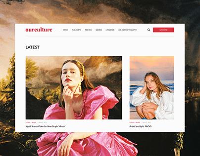 Our Culture — Online Magazine