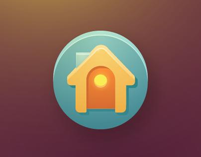 Mobile development icon set