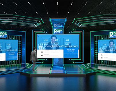 Rhone Ma Factory Launch (Virtual Set Design)