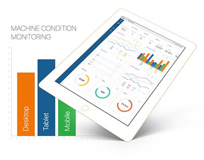 Machine Condition Monitoring & Admin Panel - 2017