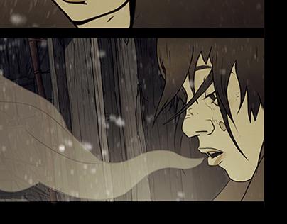 comic book pages_ПЕПЕЛ_ASH