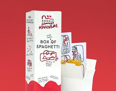 Box of Spaghetti by Pep & Noo