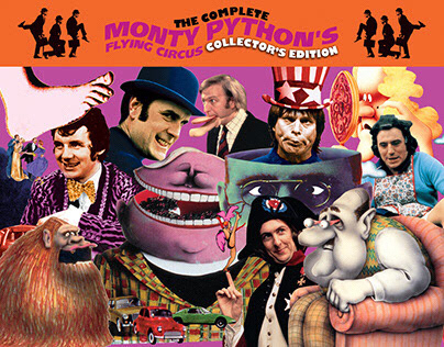 Monty Python Collector's Edition DVD Packaging