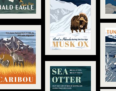 Vintage Alaskan Posters