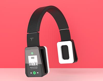 Tesla BassX | Headphones Concept