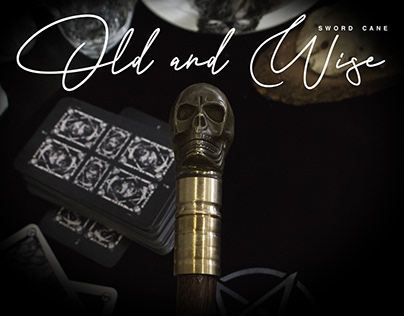 Old & Wise / Artesanal Sword Cane by Dogma