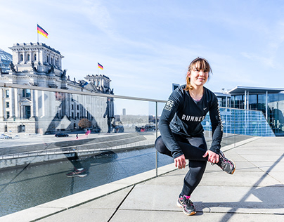 Fitness and running, Berlin, Germany