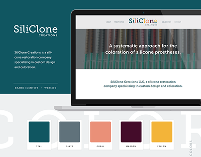 SiliClone Creations | Brand Identity & Website Design