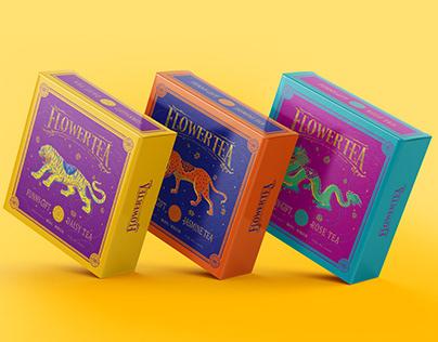 Tea Packaging - 花茶 - 产品包装设计