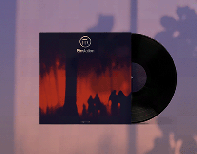 Rock Band Rebrand and Album Cover Design