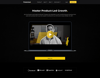 ProductLed Landing Page