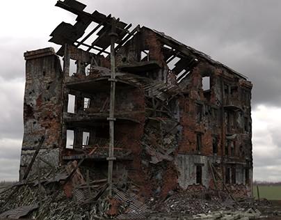 Destroyed Buildings in Stalingrad