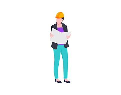 Woman Architect 👇