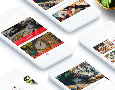 Mobichef-Mobile app. UI