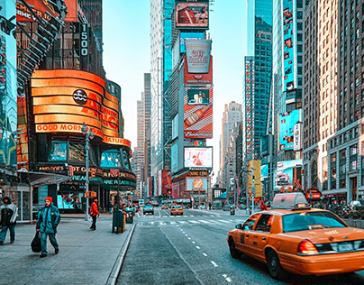 New York Lightroom Presets Mobile Photoshop Actions