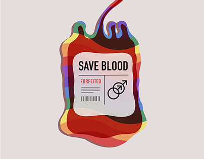 SAVE BLOOD - Tablet Ad