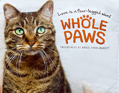 Whole Paws Pet Food Packaging Design