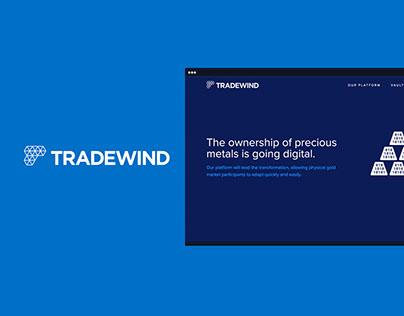 Tradewind Markets - Blockchain Technology Website
