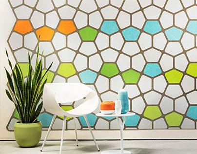 Woven Image - Pentapixel Pattern Design