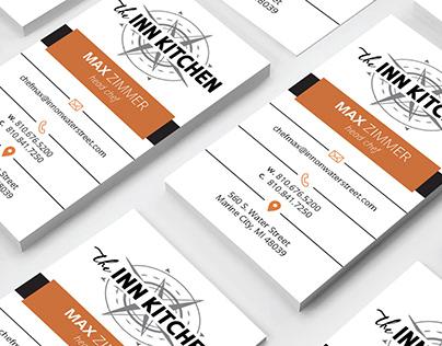 The Inn Kitchen Business Card