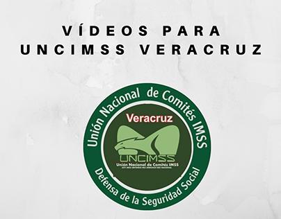 Vídeos realizados para UNCIMSS Veracruz