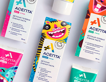 Characters for Toothpaste