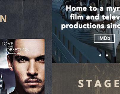 STERN Film Studio Webdesign