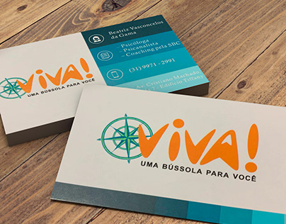 Cartão de Visitas Psicologia Viva!