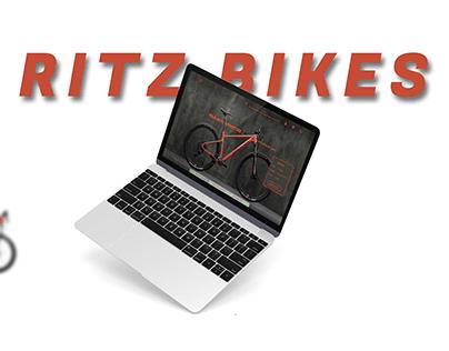 Ritz bikes web design