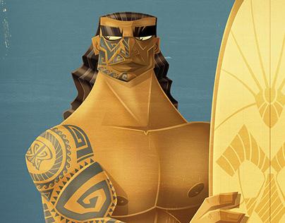 Maori surfer