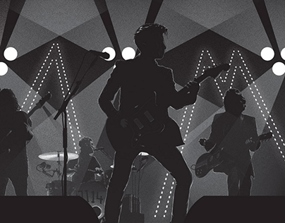Arctic Monkeys Illustration & Poster