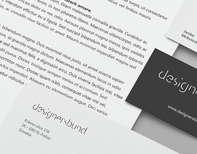 corporate identity projects gallery