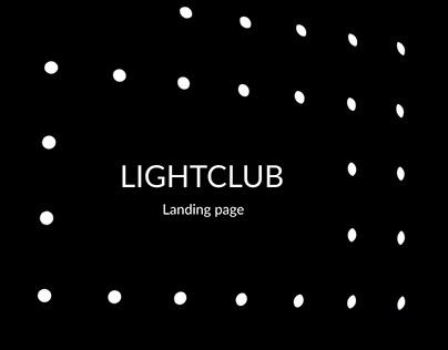 Interior studio (lighting design) landing page