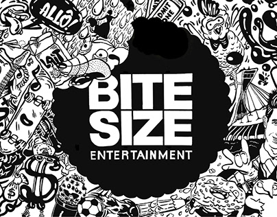 Bite Size Entertainment Mural