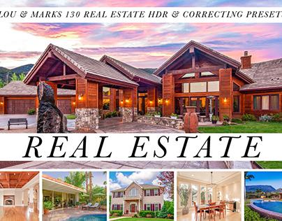 130 Real Estate Lightroom Presets