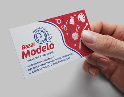 Identidade Visual – Bazar Modelo