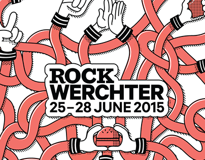 Napkin design Rock Werchter