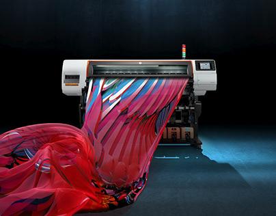 HP Stitch. Dye-Sub Printing Reinvented.