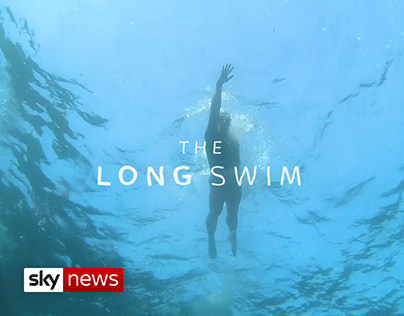 THE LONG SWIM