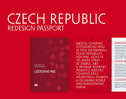 Redesign Passport of the Czech Republic